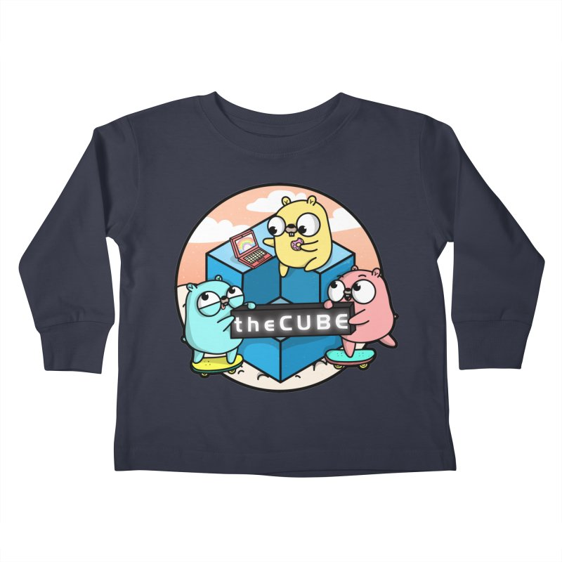 The Cube Kids Toddler Longsleeve T-Shirt by Women Who Go
