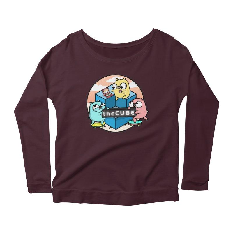 The Cube Women's Longsleeve T-Shirt by Women Who Go