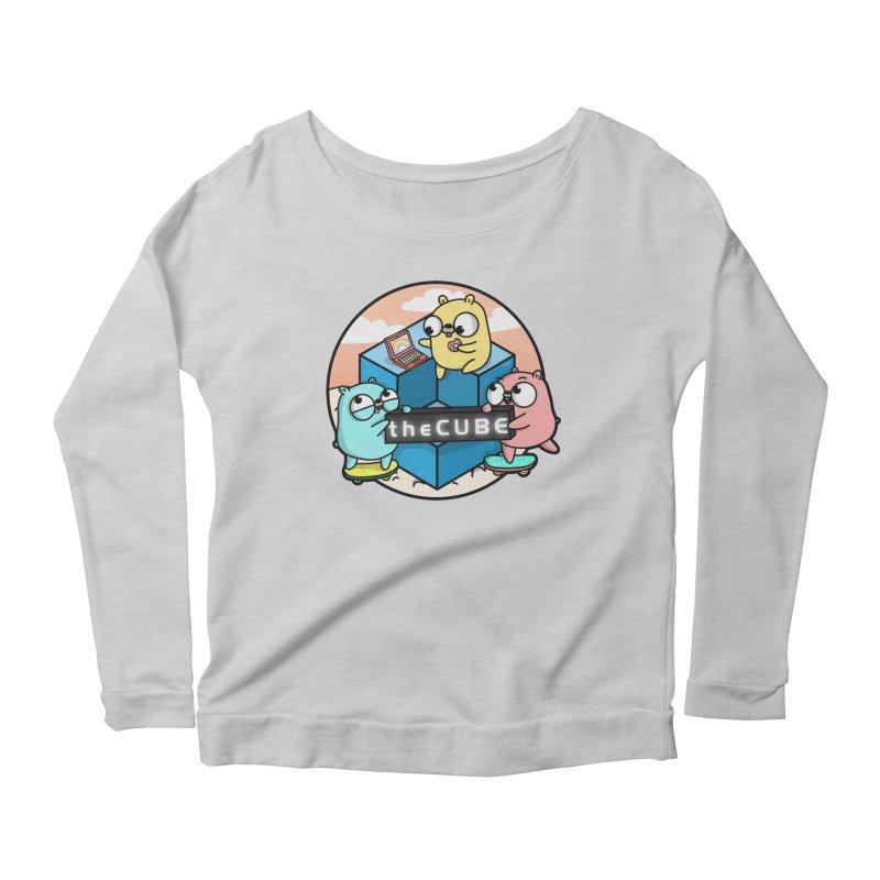The Cube Women's Scoop Neck Longsleeve T-Shirt by Women Who Go