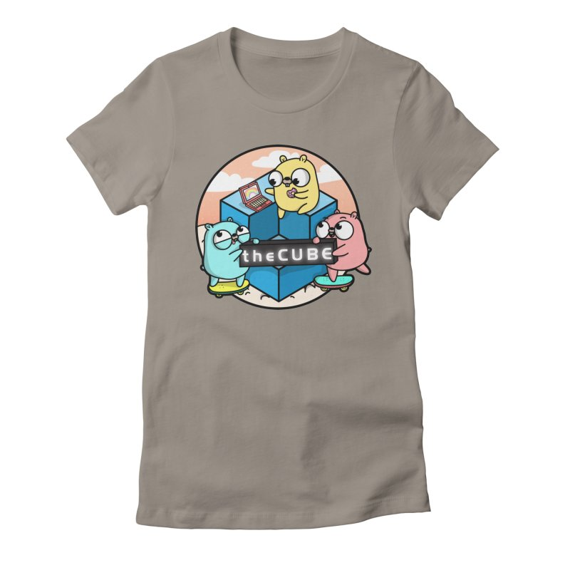 The Cube Women's Fitted T-Shirt by Women Who Go