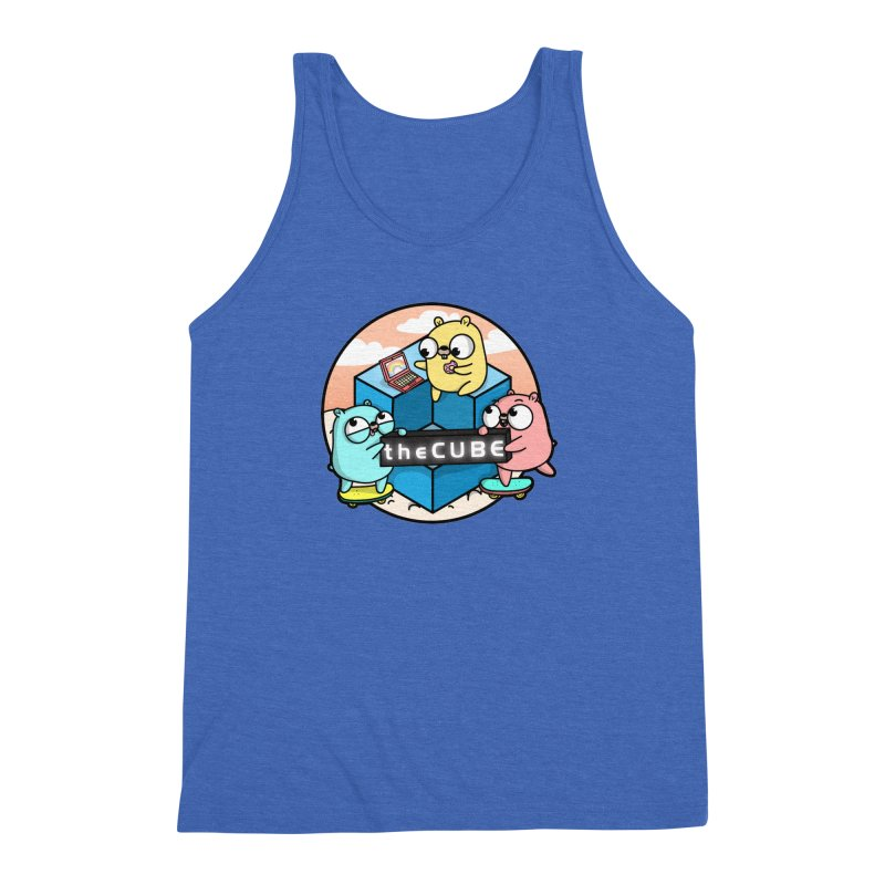 The Cube Men's Tank by Women Who Go