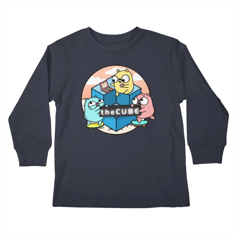 The Cube Kids Longsleeve T-Shirt by Women Who Go