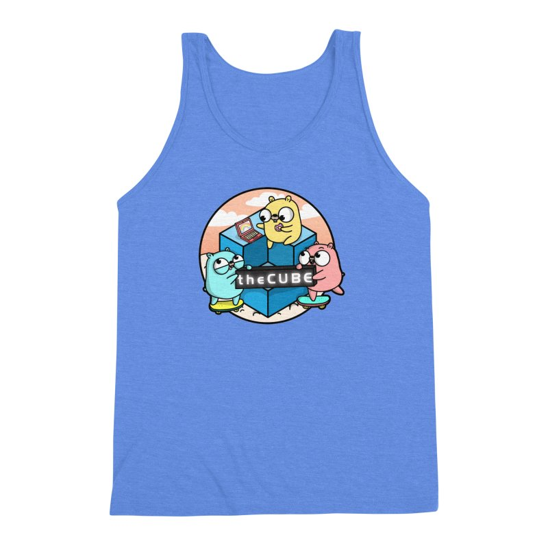 The Cube Men's Triblend Tank by Women Who Go