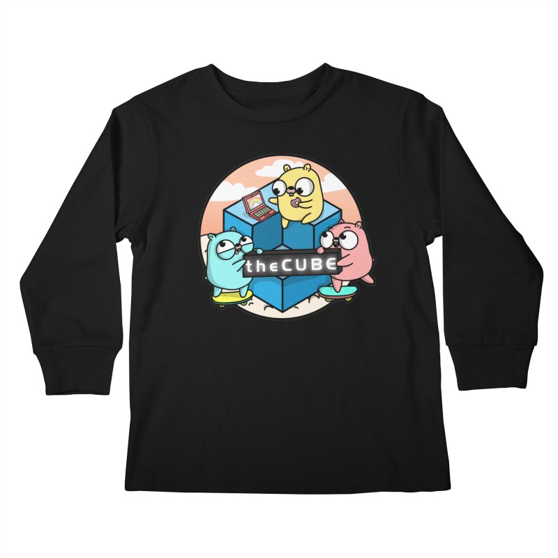 The Cube Kids Longsleeve T-Shirt by Women Who Go