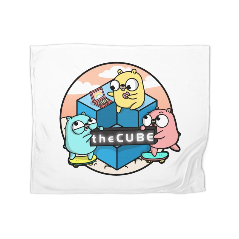 The Cube Home Fleece Blanket Blanket by Women Who Go