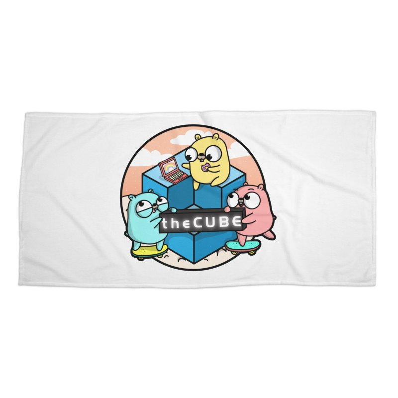 The Cube Accessories Beach Towel by Women Who Go