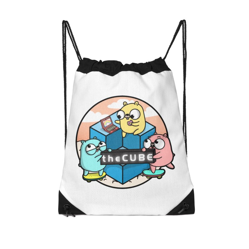 The Cube Accessories Drawstring Bag Bag by Women Who Go