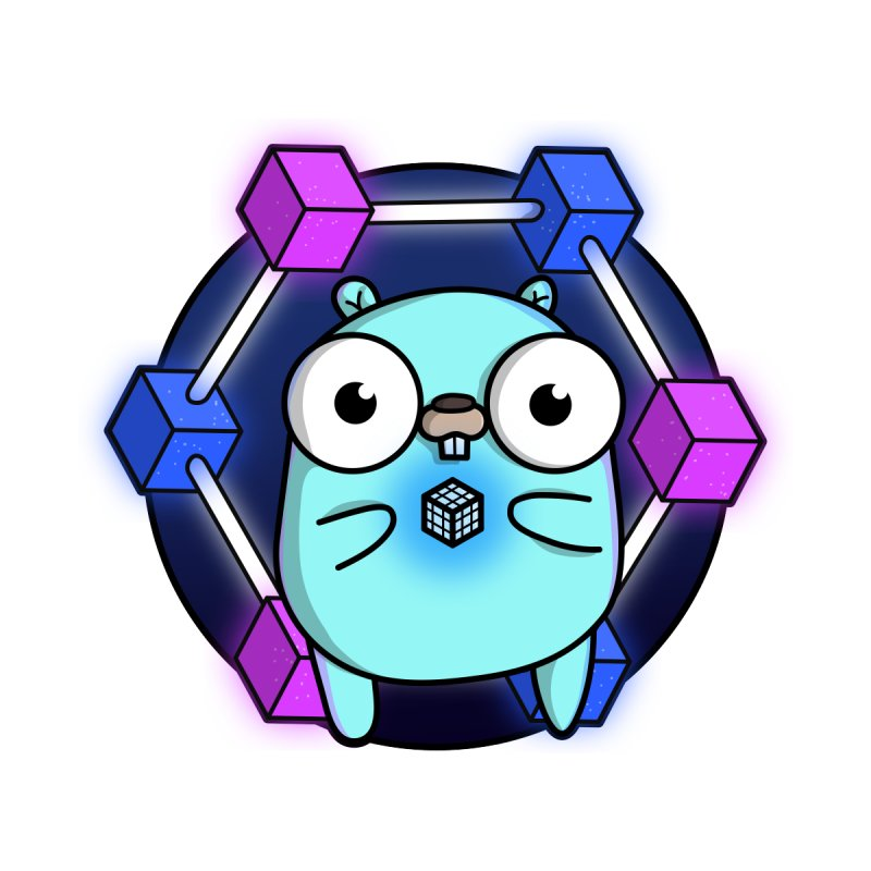 Blockchain Gopher Accessories Sticker by Women Who Go