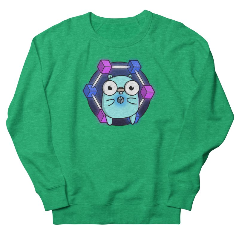 Blockchain Gopher Women's Sweatshirt by Women Who Go