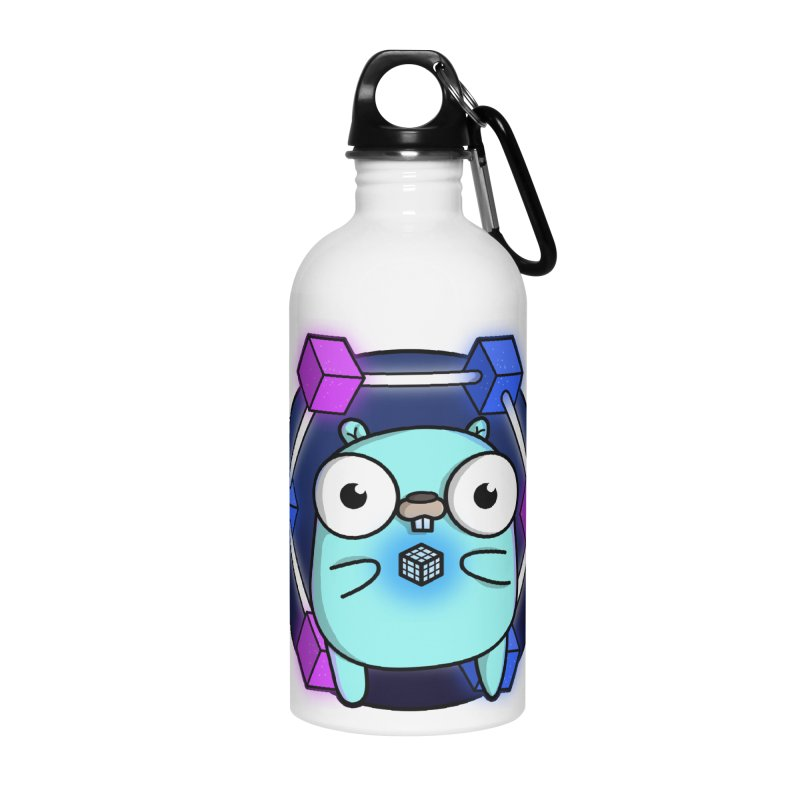 Blockchain Gopher Accessories Water Bottle by Women Who Go