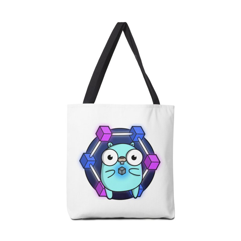 Blockchain Gopher Accessories Tote Bag Bag by Women Who Go