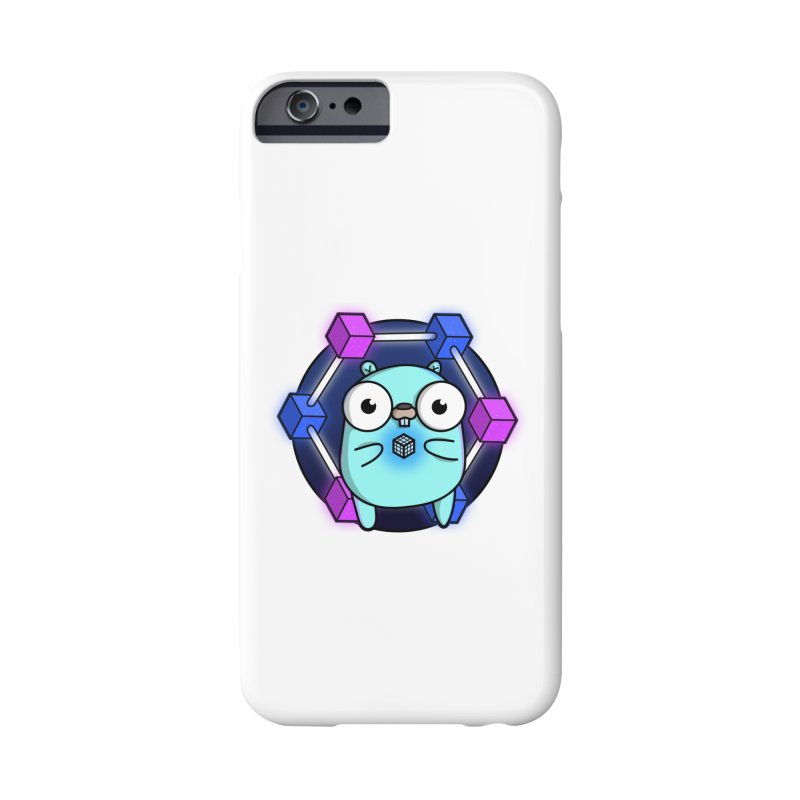 Blockchain Gopher Accessories Phone Case by Women Who Go