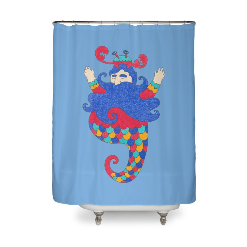 Sea Elder in Shower Curtain by Wonder Friends