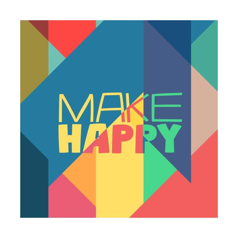 Make Happy Accessories Notebook by A Wonderful Shop of Wonderful Wonders
