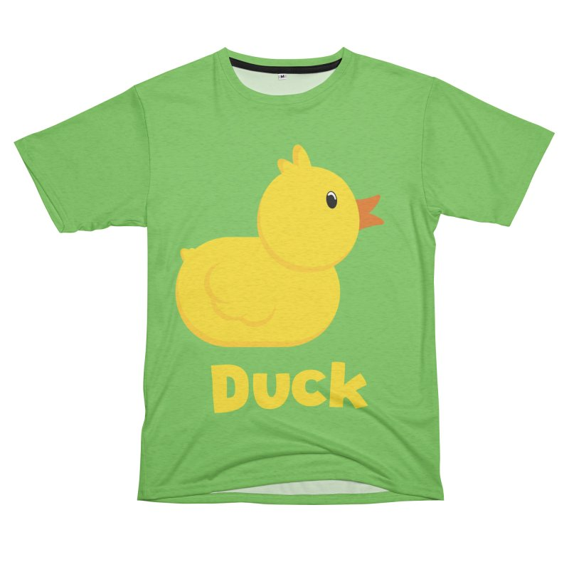 Duck Men's French Terry T-Shirt Cut & Sew by A Wonderful Shop of Wonderful Wonders