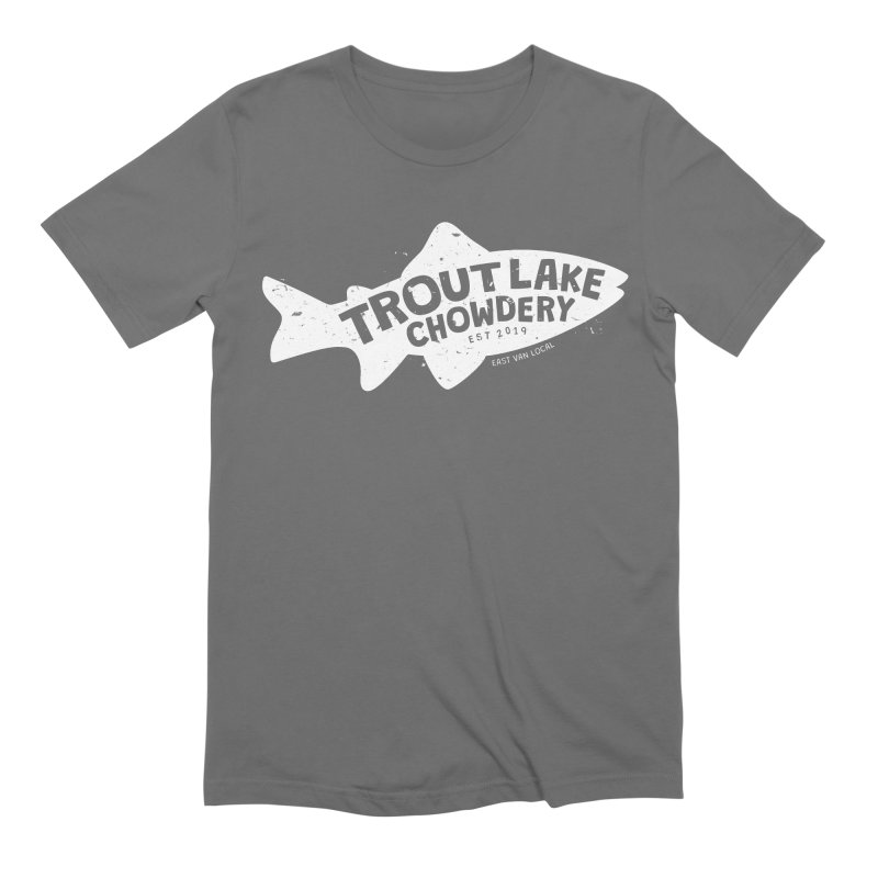 Trout Lake Chowdery Men's T-Shirt by A Wonderful Shop of Wonderful Wonders