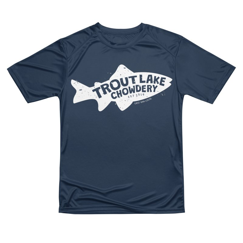 Trout Lake Chowdery Women's T-Shirt by A Wonderful Shop of Wonderful Wonders