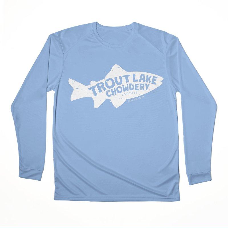 Trout Lake Chowdery Men's Longsleeve T-Shirt by A Wonderful Shop of Wonderful Wonders