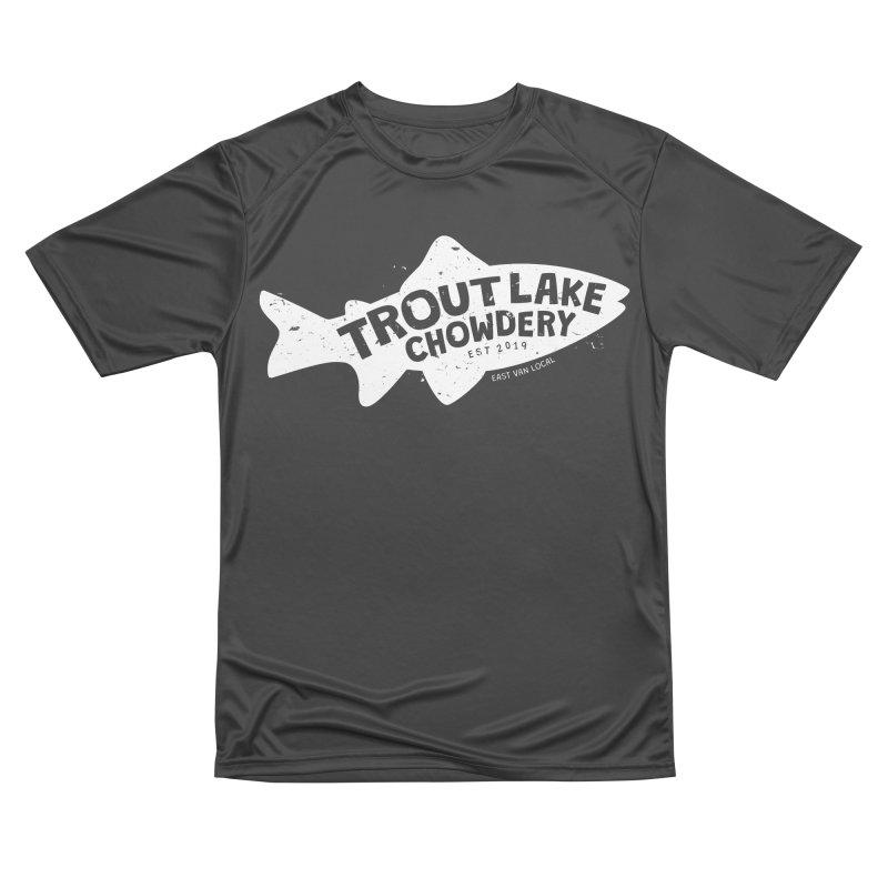 Trout Lake Chowdery Men's Performance T-Shirt by A Wonderful Shop of Wonderful Wonders
