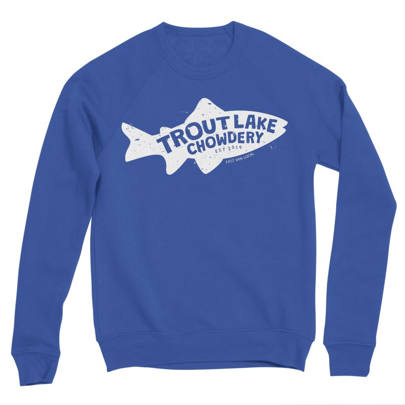 Trout Lake Chowdery Women's Sweatshirt by A Wonderful Shop of Wonderful Wonders