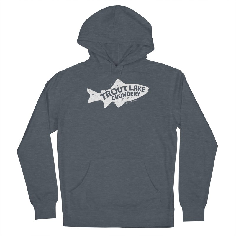 Trout Lake Chowdery Women's French Terry Pullover Hoody by A Wonderful Shop of Wonderful Wonders