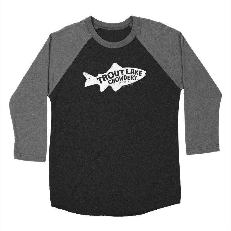 Trout Lake Chowdery Women's Longsleeve T-Shirt by A Wonderful Shop of Wonderful Wonders