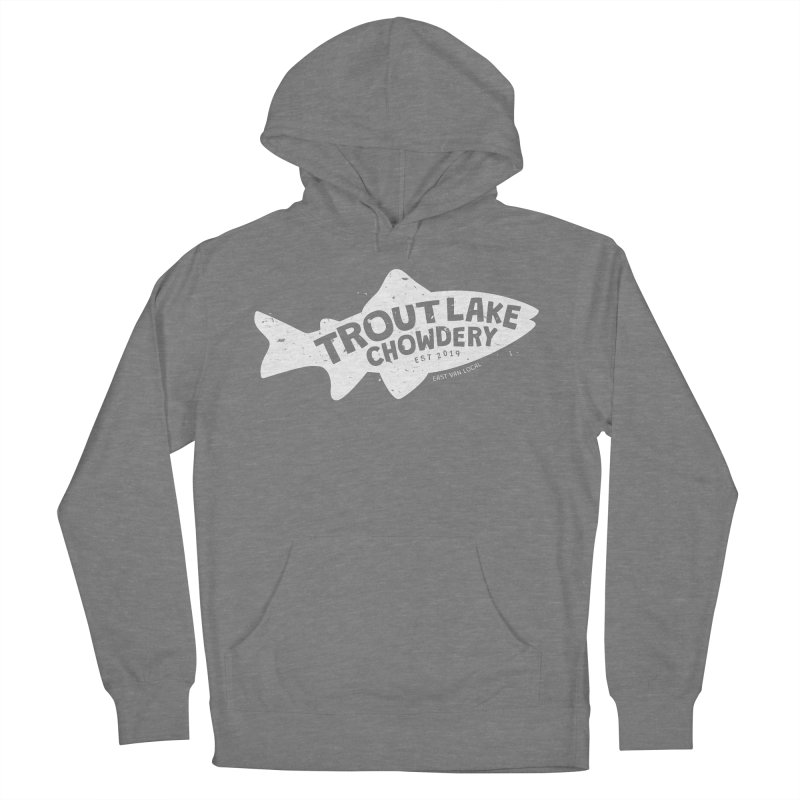 Trout Lake Chowdery Women's Pullover Hoody by A Wonderful Shop of Wonderful Wonders