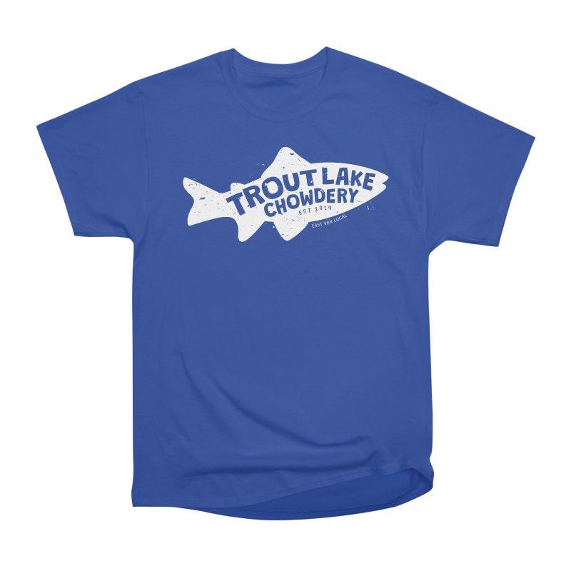 Trout Lake Chowdery Women's Heavyweight Unisex T-Shirt by A Wonderful Shop of Wonderful Wonders