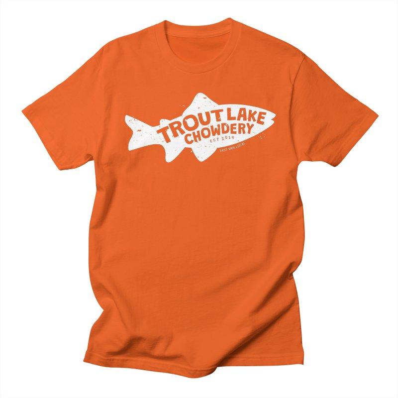 Trout Lake Chowdery Women's Regular Unisex T-Shirt by A Wonderful Shop of Wonderful Wonders