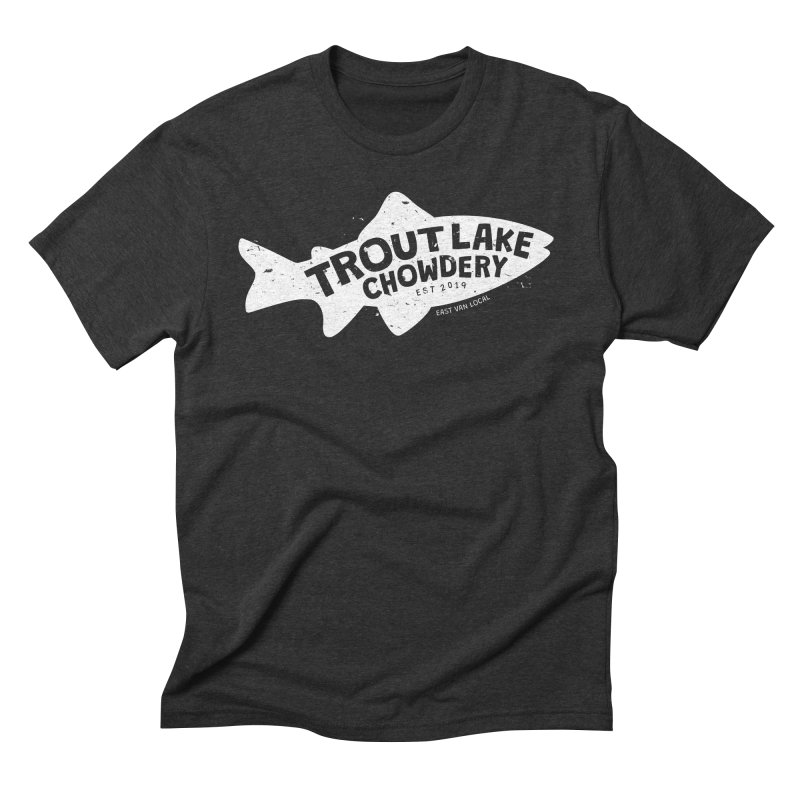 Trout Lake Chowdery Men's T-Shirt by A Wonderful Shop of Wonderful Wonders