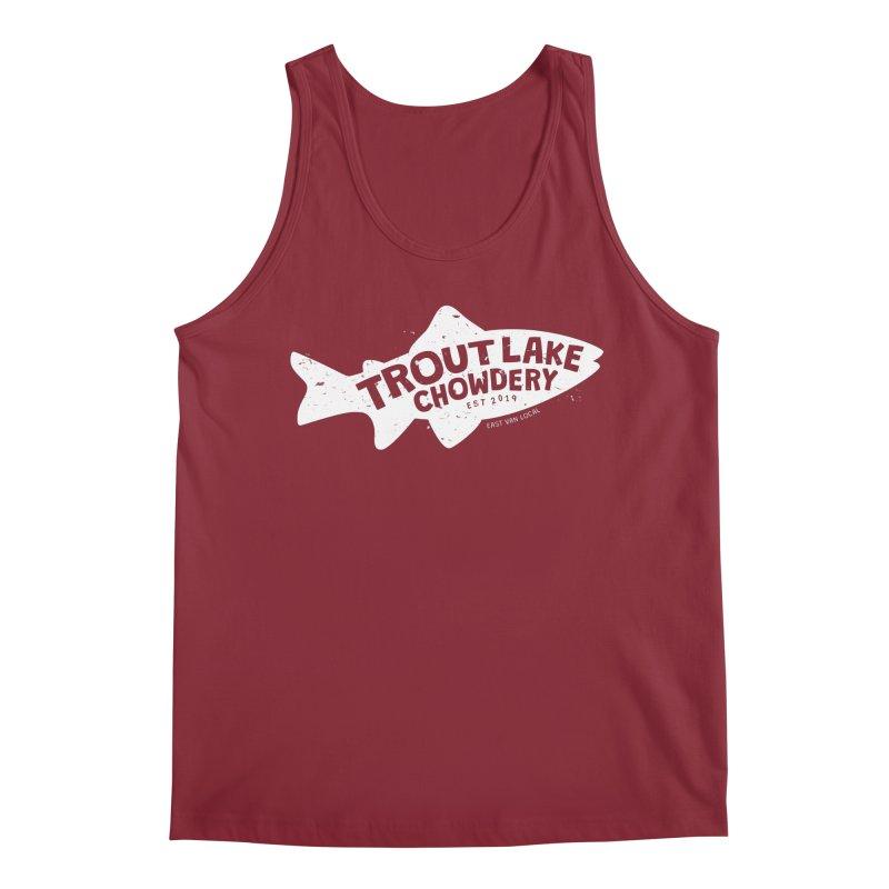 Trout Lake Chowdery Men's Tank by A Wonderful Shop of Wonderful Wonders