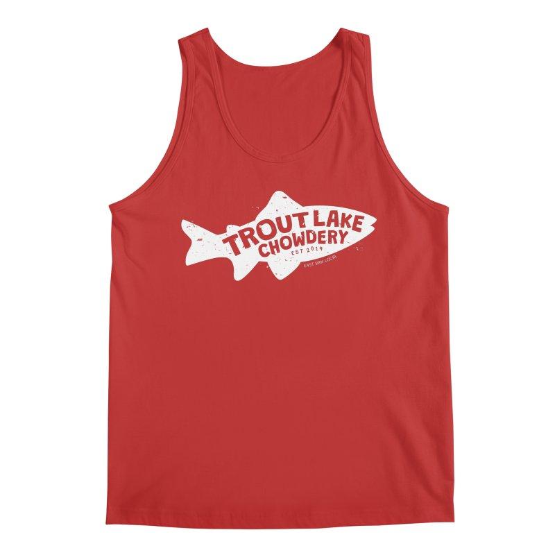 Trout Lake Chowdery Men's Regular Tank by A Wonderful Shop of Wonderful Wonders