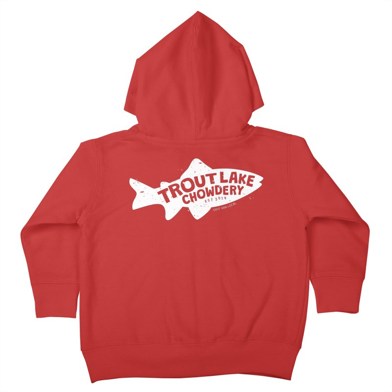 Trout Lake Chowdery Kids Toddler Zip-Up Hoody by A Wonderful Shop of Wonderful Wonders