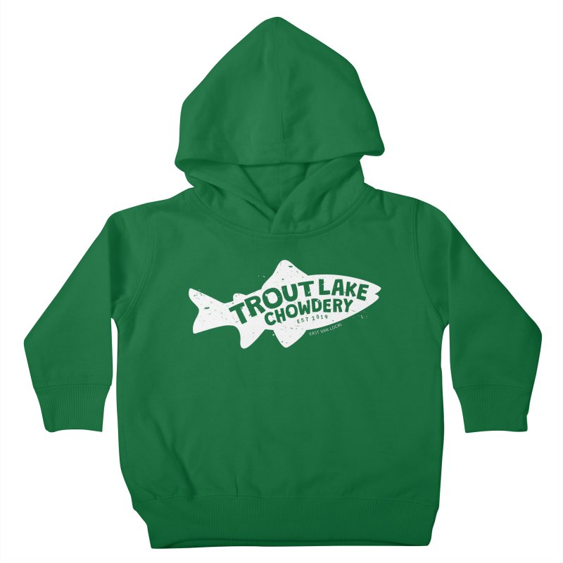 Trout Lake Chowdery Kids Toddler Pullover Hoody by A Wonderful Shop of Wonderful Wonders