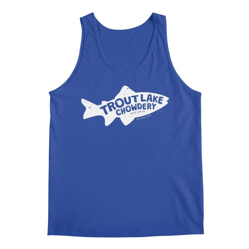 Trout Lake Chowdery Men's Regular Tank by A Wonderful Shop of Wonderful Wonders