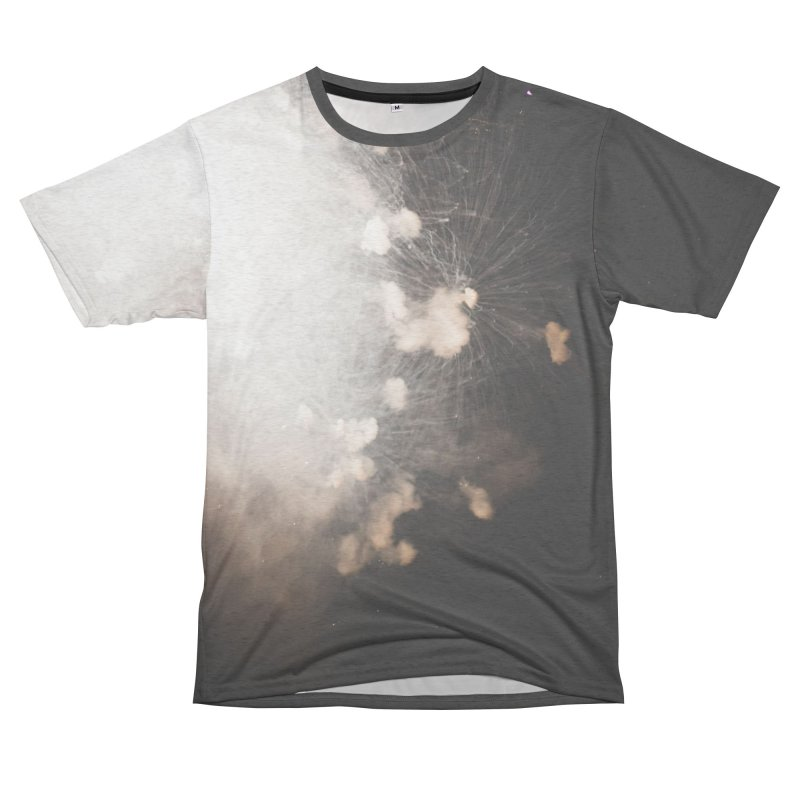 Explosions Women's Unisex French Terry T-Shirt Cut & Sew by A Wonderful Shop of Wonderful Wonders