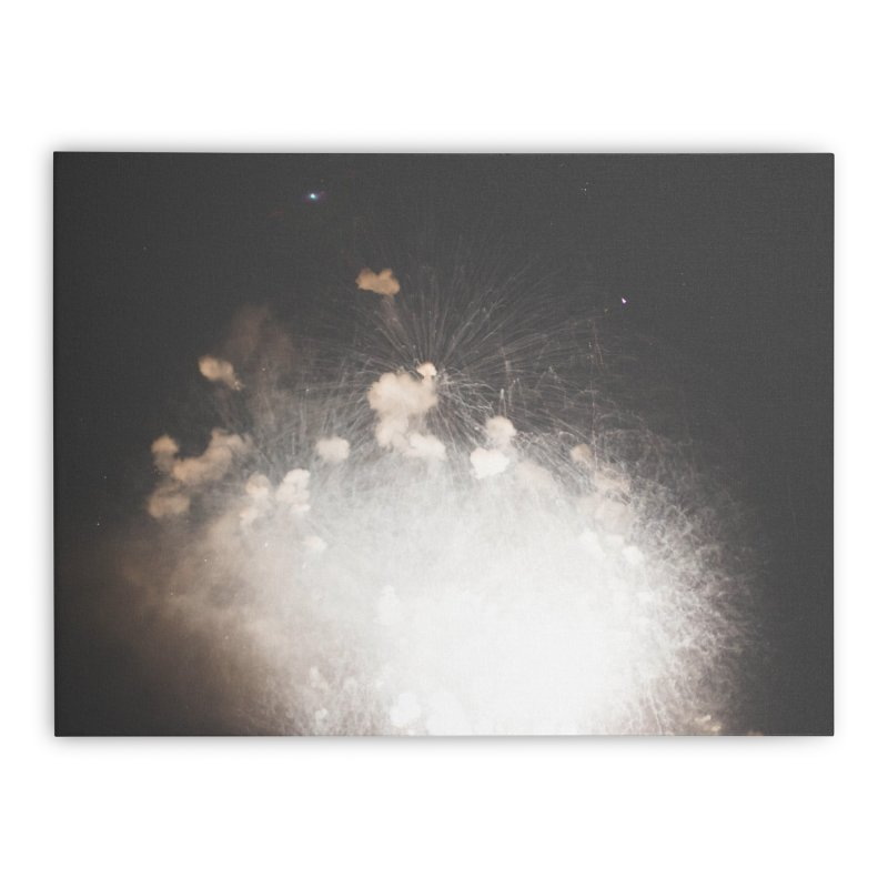 Explosions Home Stretched Canvas by A Wonderful Shop of Wonderful Wonders