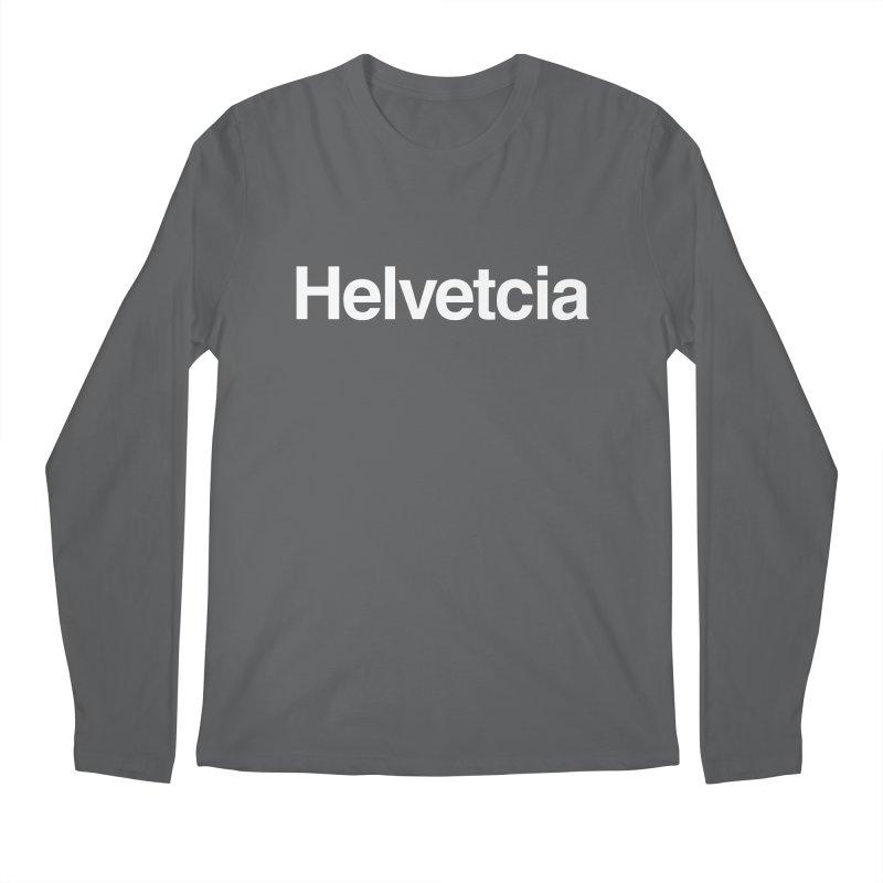Helvetcia Men's Longsleeve T-Shirt by A Wonderful Shop of Wonderful Wonders