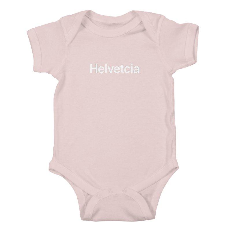 Helvetcia Kids Baby Bodysuit by A Wonderful Shop of Wonderful Wonders
