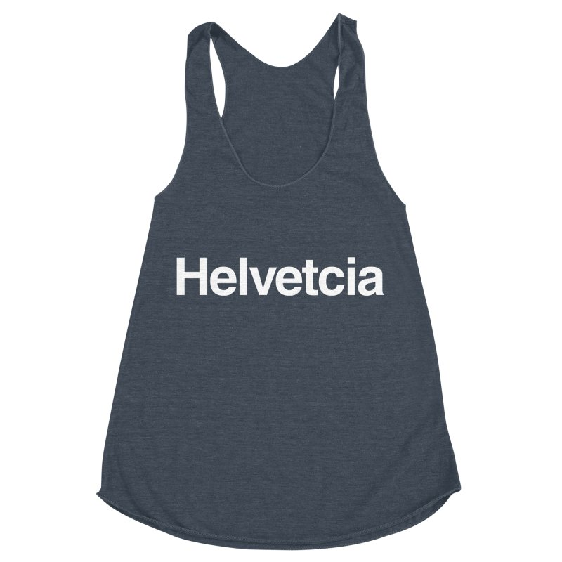 Helvetcia Women's Racerback Triblend Tank by A Wonderful Shop of Wonderful Wonders