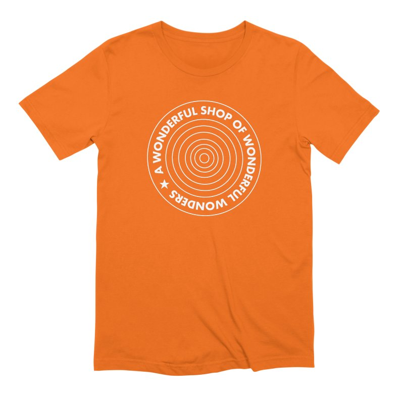 A Wonderful Shop of Wonderful Wonders Men's Extra Soft T-Shirt by A Wonderful Shop of Wonderful Wonders