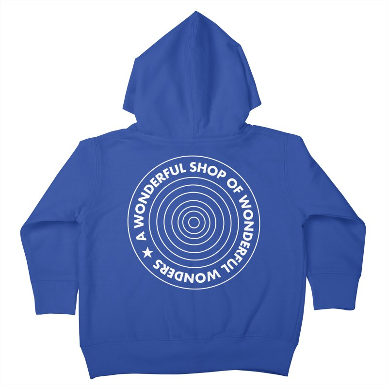 A Wonderful Shop of Wonderful Wonders Kids Toddler Zip-Up Hoody by A Wonderful Shop of Wonderful Wonders