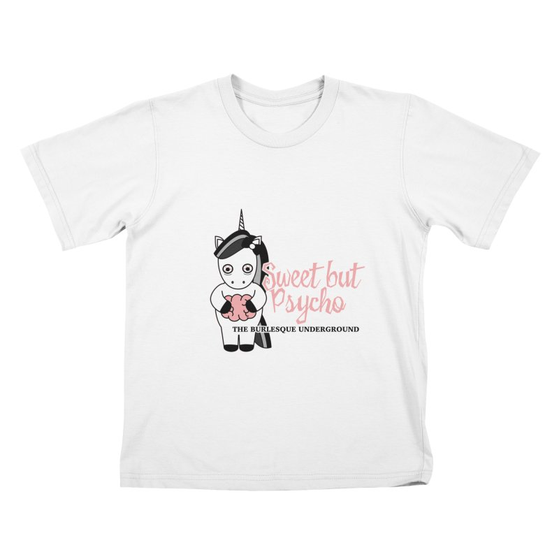 Sweet But Psycho Kids T-Shirt by Wonderground