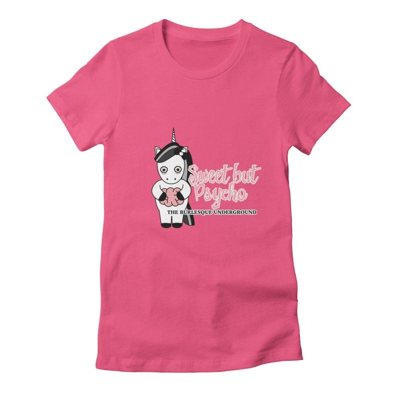 Sweet But Psycho Women's T-Shirt by Wonderground