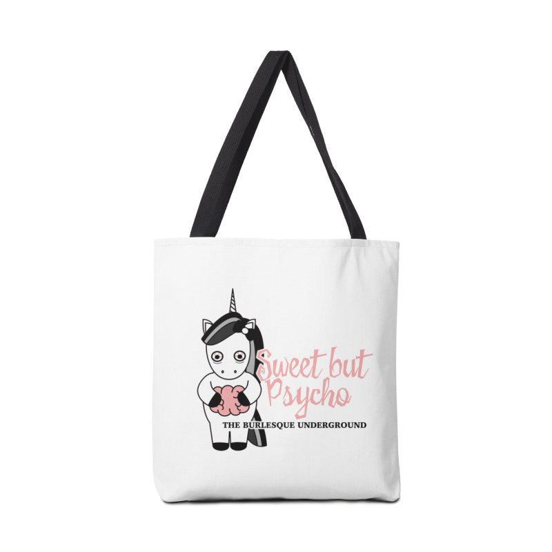 Sweet But Psycho Accessories Bag by Wonderground