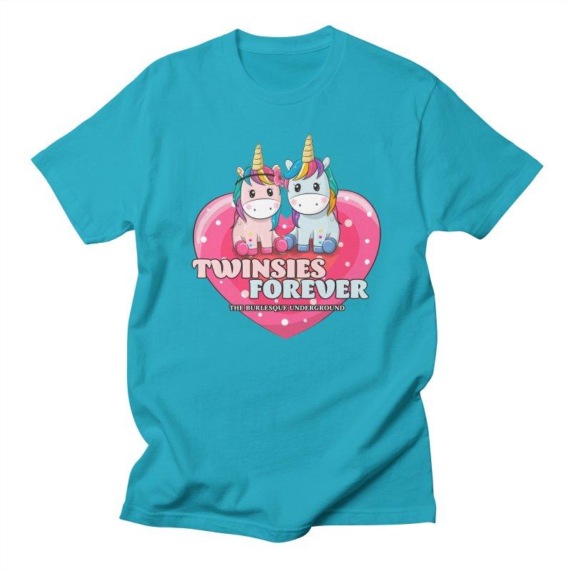 Twinsies Forever Men's T-Shirt by Wonderground