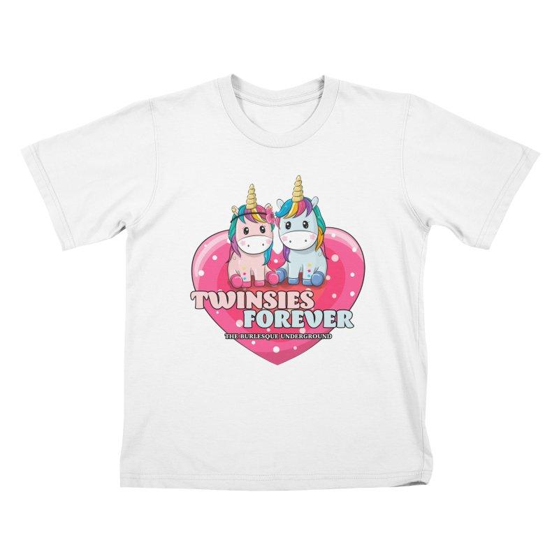 Twinsies Forever Kids T-Shirt by Wonderground