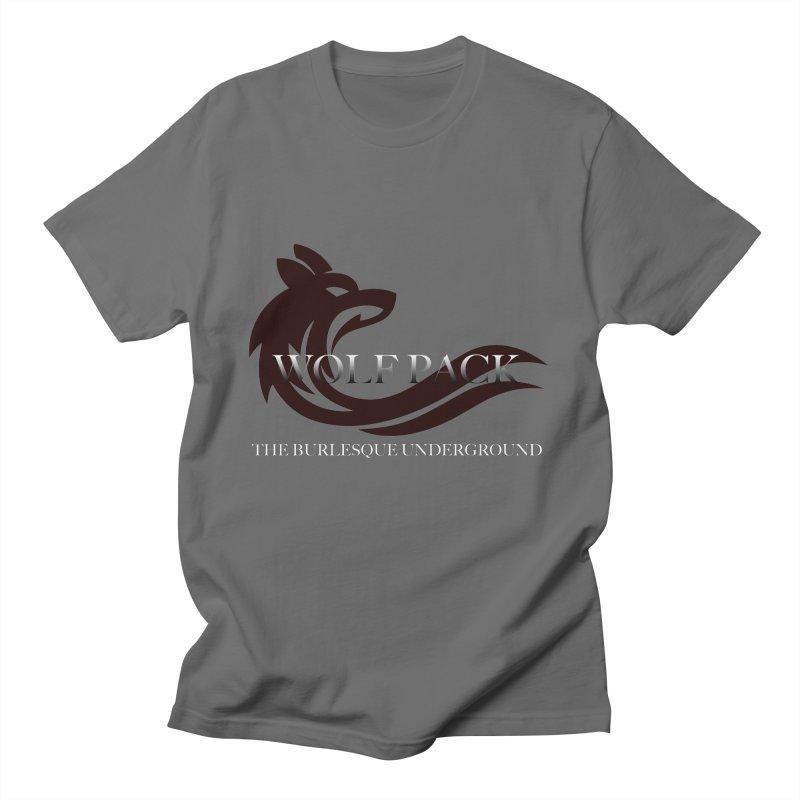 Wolf Pack Men's T-Shirt by Wonderground