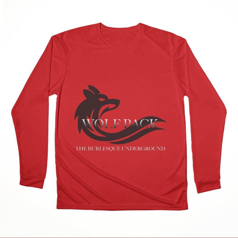 Wolf Pack Men's Longsleeve T-Shirt by Wonderground