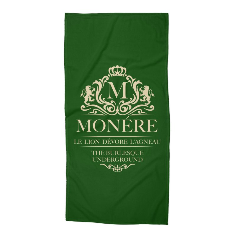 Monére (The Lion Devours the Lamb) Accessories Beach Towel by Wonderground